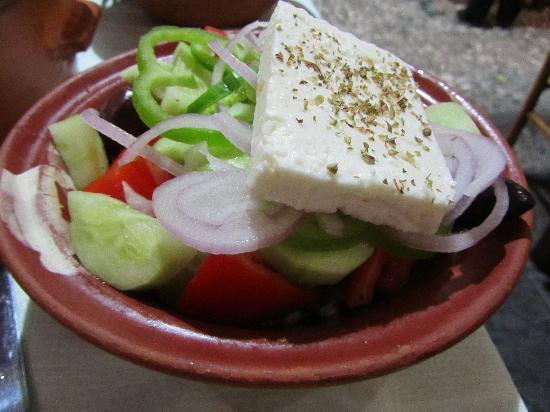 Rustico Taverna: Griekse salade