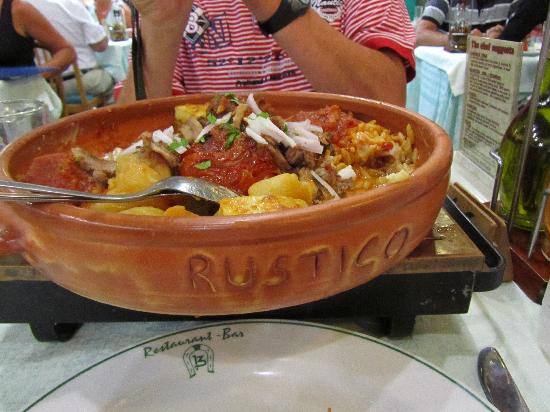 Rustico Taverna: Yummie,yummie