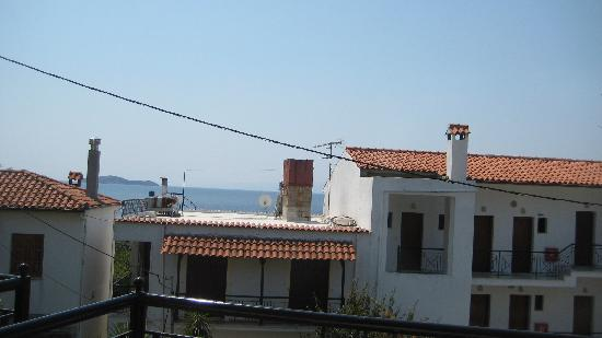 Hotel Megali Ammos House: view from the room