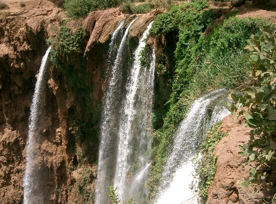 Fas: cascadas de ozoud