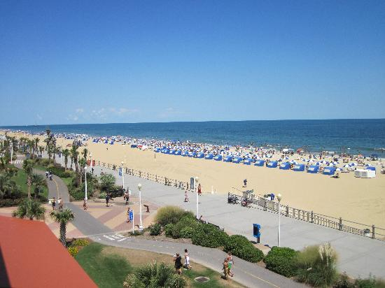 The Oceanfront Inn: View from room 410