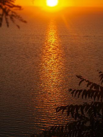 Castellabate, إيطاليا: Sunset from Castellabate