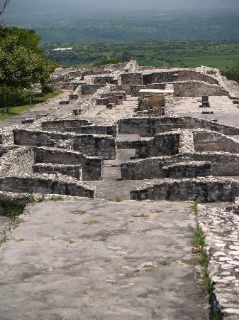 Archaeological Zone of Xochicalco : Vista panoramica 2