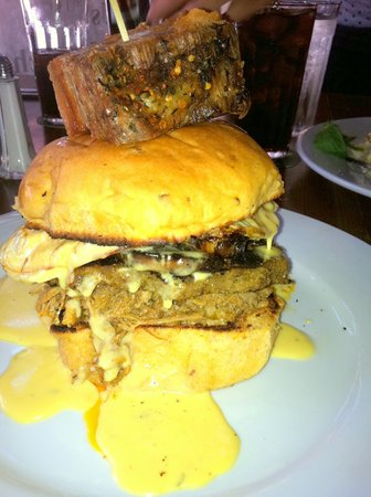 Lexington Avenue Brewery: Happy Sandwich at Lab in Asheville!