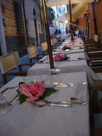 Lerici, Italien: tavoli all'aperto