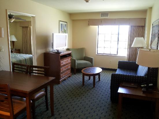 homewood suites by hilton san diego airport liberty station living room in 2 bedroom - The Living Room San Diego