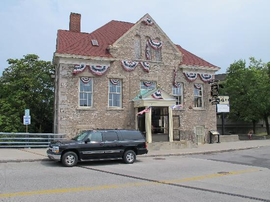 Lockport, État de New York : Old City Hall and tour entrance