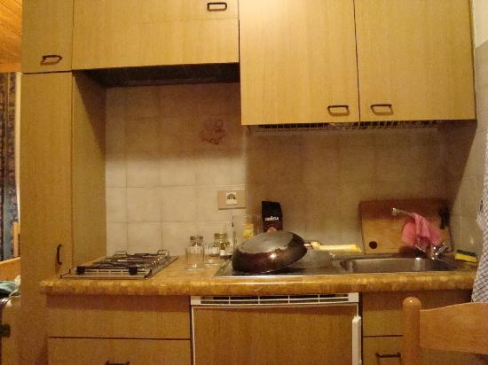 Apparthotel Germania: Angolo cottura