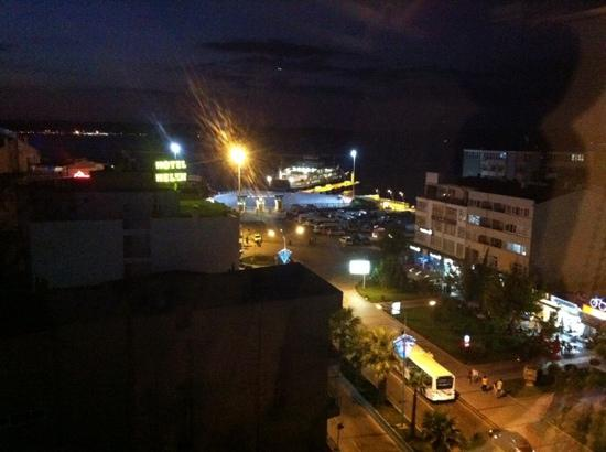 Canak Hotel: view from the restaurant