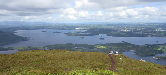 Killarney, Ireland: View from the top