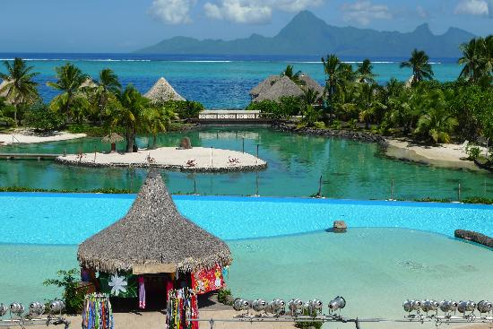 InterContinental Resort Tahiti: vista moorea..