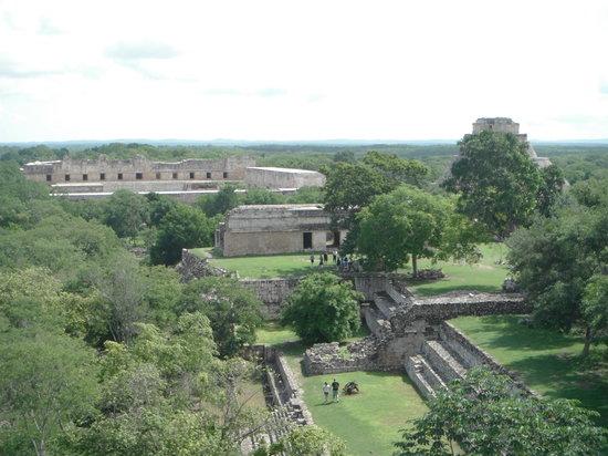 Tempel von Uxmal: Uxmal Ruins
