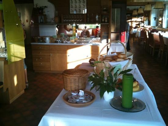 Hotel Handl : breakfast