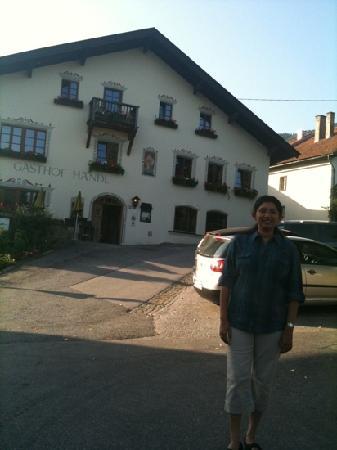 Hotel Handl : outside the gasthof handl