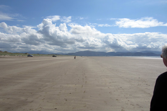 Inch, Ireland: Just past the busy end of the beach