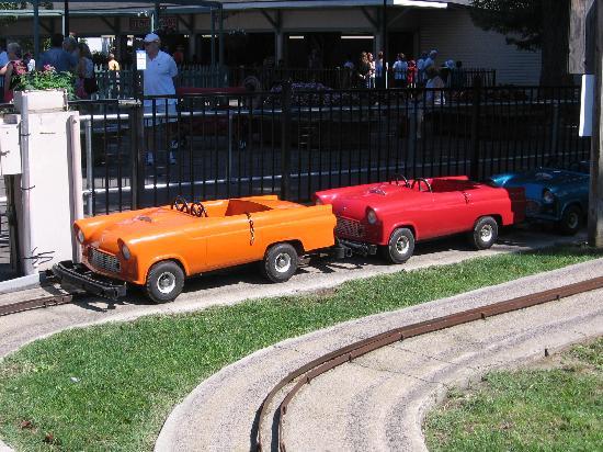 Seabreeze Amusement Park: Kiddie cars