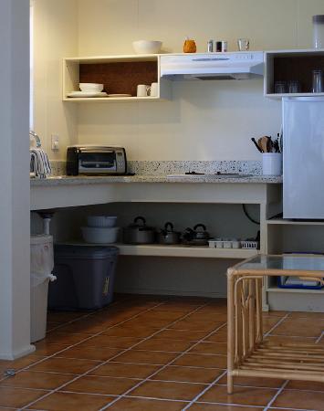 Concordia Eco-Resort: Eco-Studio Kitchen