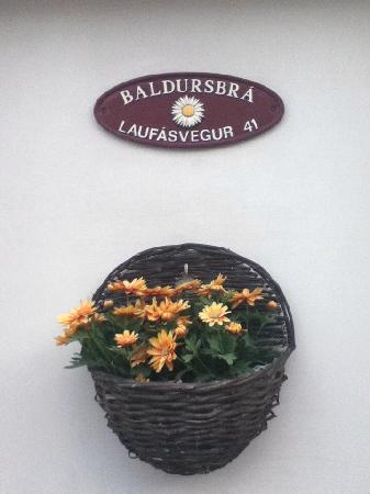 Baldursbra Guesthouse: Address