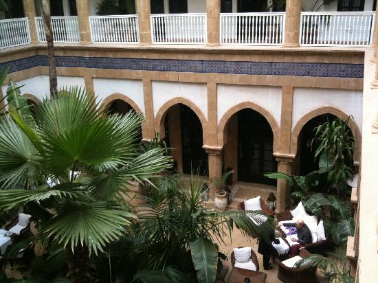 L'Heure Bleue Palais : Le patio