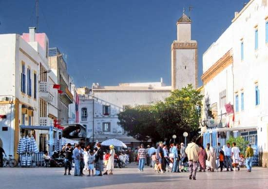 L'Heure Bleue Palais : Essaouira en février
