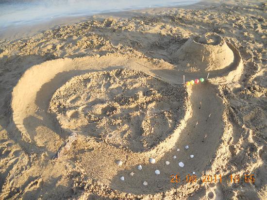 Villaggio Turistico Adriatico: giochi in spiaggia