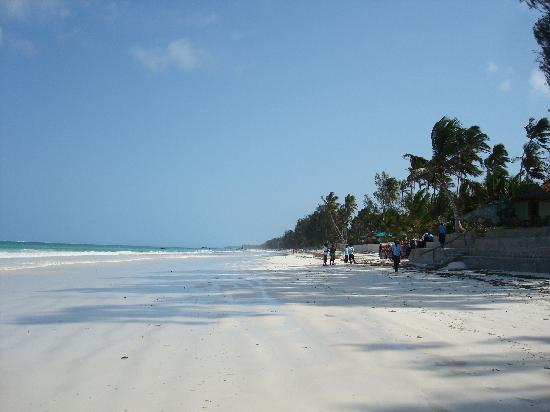 Diani Sea Resort: spiaggia