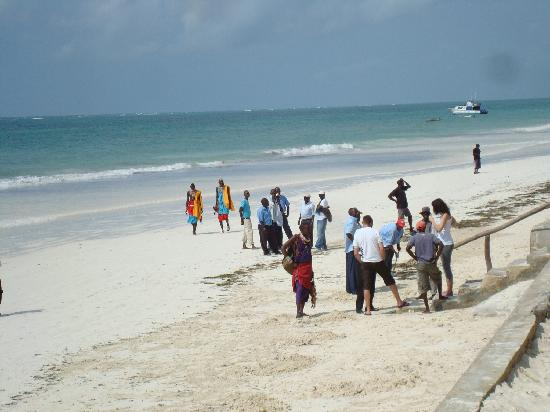 Diani Sea Resort: beach boys