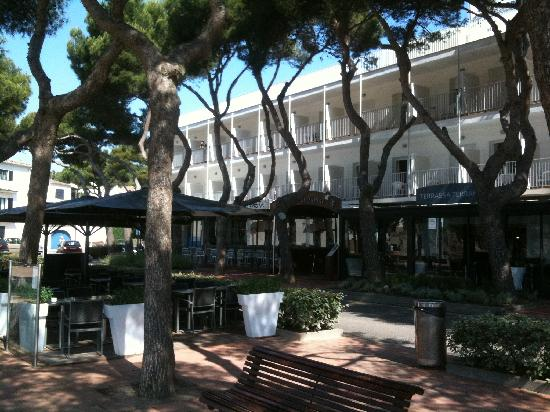Hotel Terramar: L'hôtel et la promenade devant la plage
