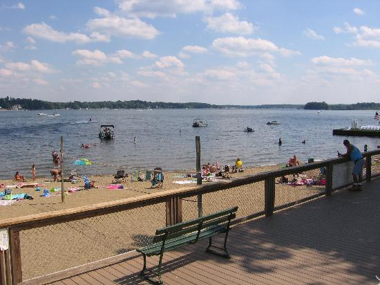 Conneaut Lake, Пенсильвания: Beachfront