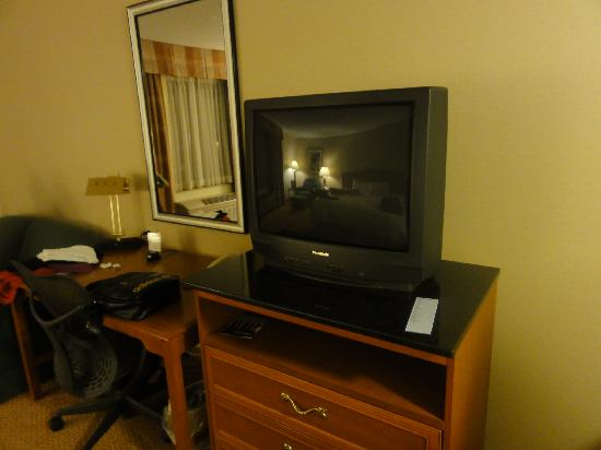 Hilton Garden Inn Poughkeepsie/Fishkill: télé