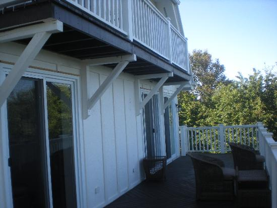 The Doctor's House Inn & Spa : Great patio of the Bedroom