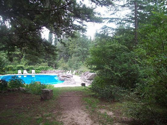 Hotel Las Cascadas: Parque