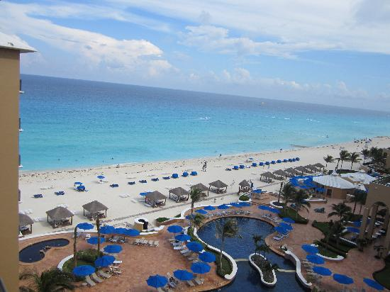 The Ritz-Carlton, Cancun: view from balcony