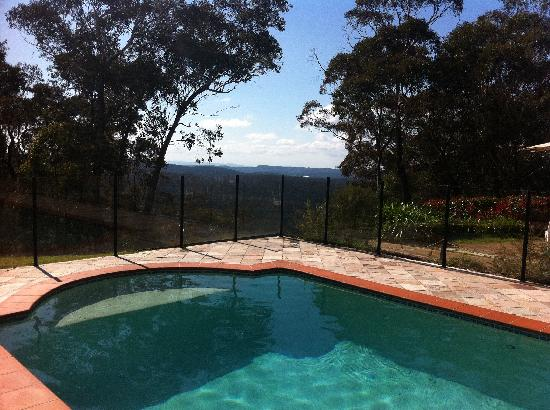 The Hideaway Retreat: Poolside View