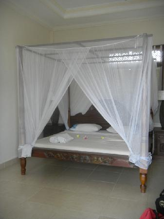 Permana Cottages: Bed - Letto