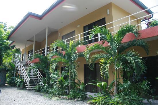 Hotel Luz de Luna: grande terrasse et sa vue sur la nature