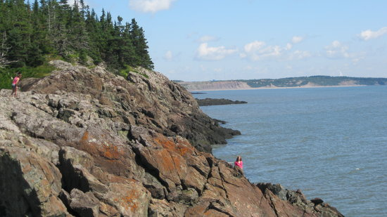 Saint John, Kanada: Exploring Irving Nature Park