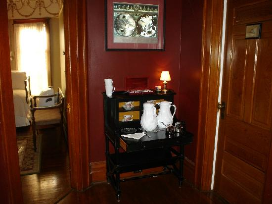 Market Street Inn: Coffee right at your front door