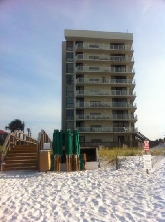 Mainsail Resort: condo from the beach. 231 is on the third floor