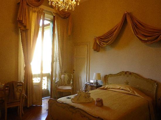 Grand Hotel & La Pace: notre chambre sur jardin