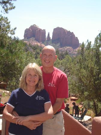 Sedona Cathedral Hideaway: Perfect hosts