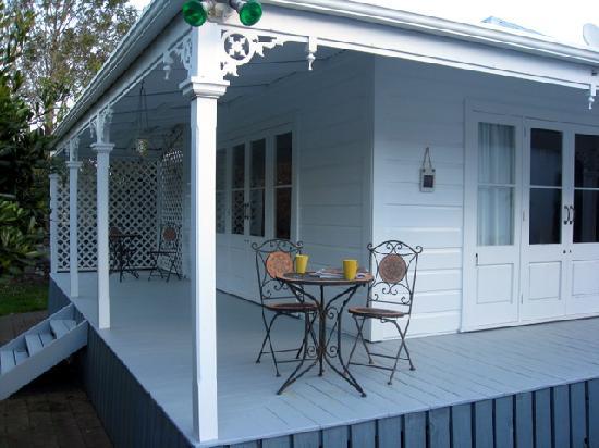 Lupton Lodge: Veranda