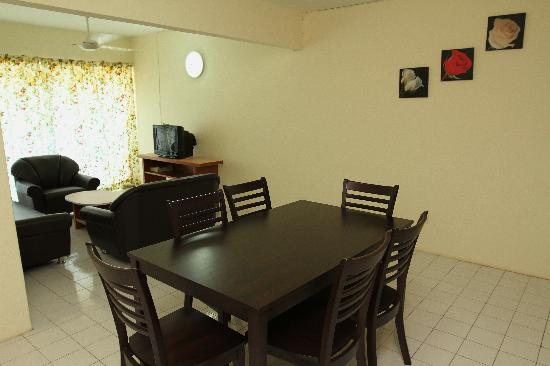 ‪‪Garden City Melaka Service Apartments‬: Living Room‬