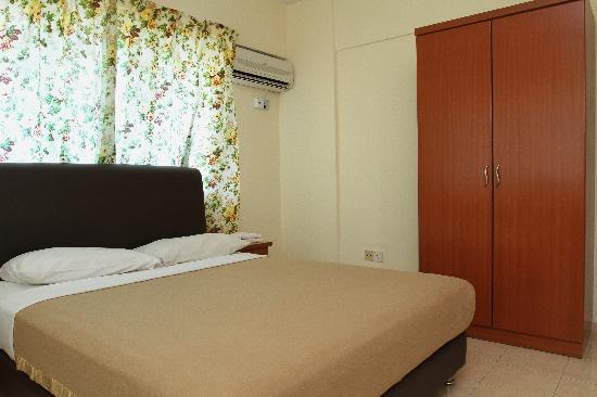 ‪‪Garden City Melaka Service Apartments‬: Master Bedroom‬
