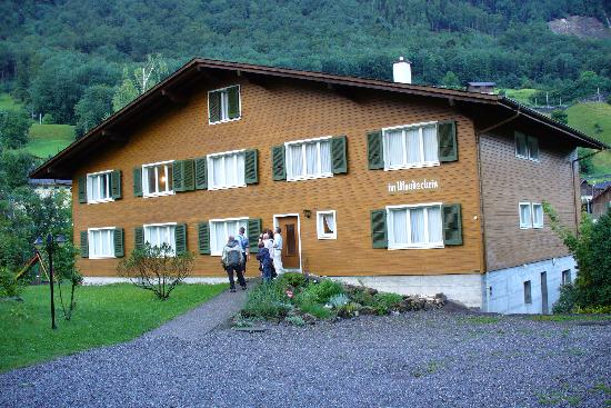 "Giswil, Switzerland: Our Building ""im  Mondschein"""