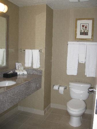 Holiday Inn Express Hotel & Suites Medford-Central Point: Bathroom