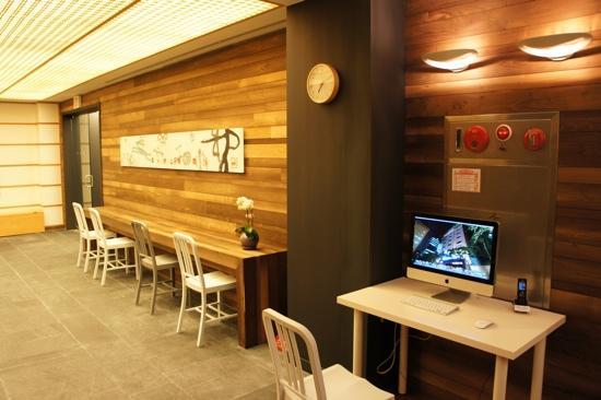 Hotel Sunbee: lobby