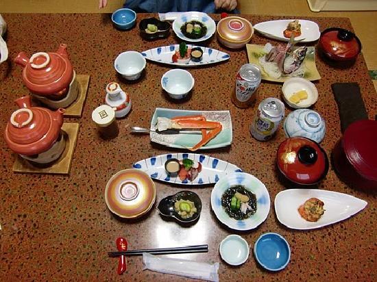 Fukumien : 夕食