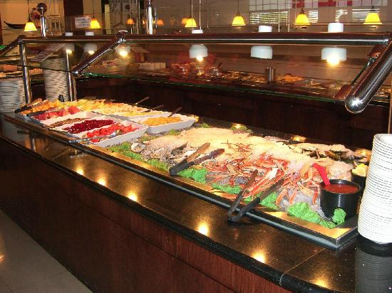 Traditional hot bar picture of ginza japanese buffet for Asian cuisine buffet