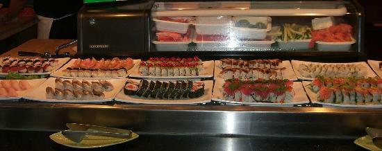 Ginza Japanese Buffet: Sushi Rolls